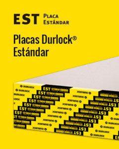 Placas Durlock Estándar